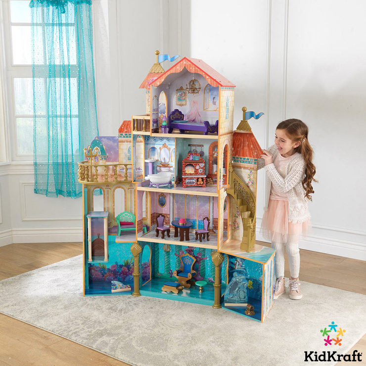 kidkraft disney princess ariel undersea kingdom dollhouse 20
