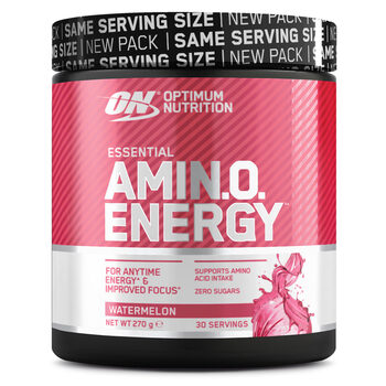 Optimum Nutrition Amino Energy Watermelon, 270g (30 Servings)