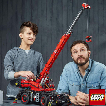 LEGO Technic Rough Terrain Crane + Power Functions - Model 42082 (11+ Years)