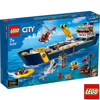 LEGO City Ocean Exploration Ship - Model 60266 (7+ Years)