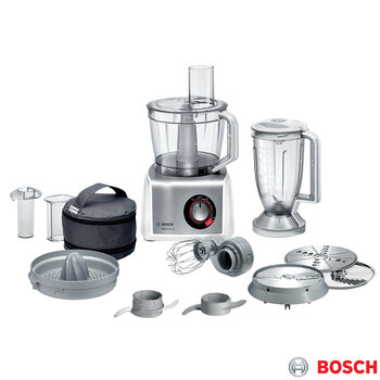Bosch MultiTalent 8 Food Processor, White, MC812S734G
