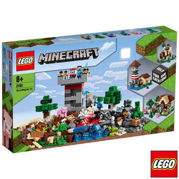 LEGO Minecraft The Crafting Box 3.0 - Model 21161 (8+ Years)