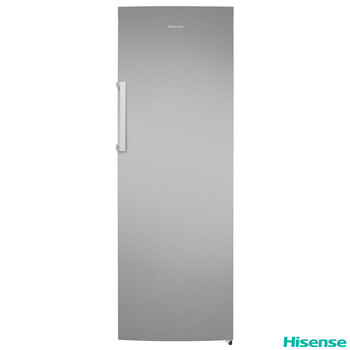 Hisense RL423N4AC11, Tall Fridge, A+ Rating in Stainless Steel