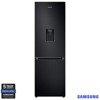 Samsung RB34T632EBN/EU, Fridge Freezer, E Rated in Black