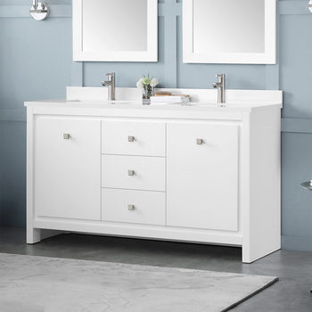 OVE Decors Oxford 150cm Dual Vanity Basin Unit