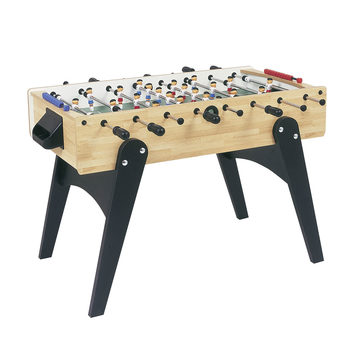 "Garlando F-10 4ft 6"" Football Table in Beechwood"