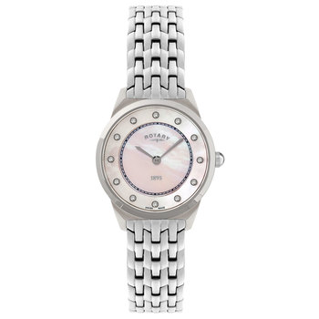 Rotary Ladies Ultra Slim Swiss Watch LB08000/02