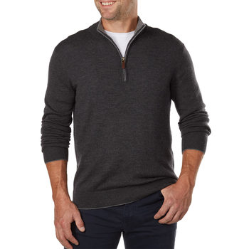 Kirkland Signature Men's Merino Wool Sweater in 4 Colours and 5 Sizes
