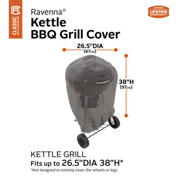 Classic Accessories Ravenna Kettle Barbecue Cover
