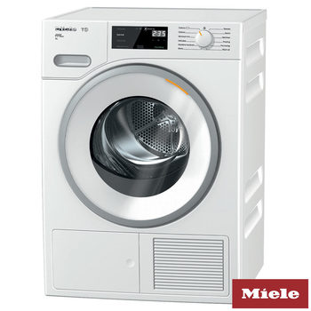 Miele TWH620, 9kg, Heat Pump Condenser Dryer A+++ Rating in White