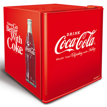 Husky Coca Cola Table Top Drinks Fridge, 48L
