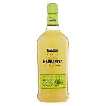 Kirkland Signature Golden Margarita Premium Ready-to-Drink, 1.75L