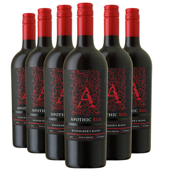 Apothic Red Wine, 6x75cl