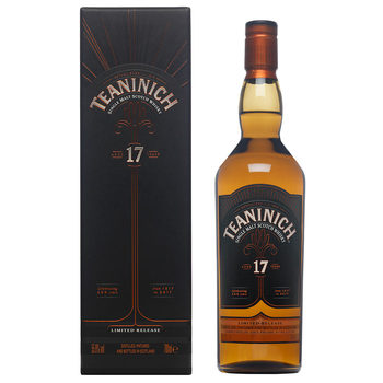 00de05d02a6 Teaninich 17 Year Old Single Malt Scotch Whisky  Special Release 2017