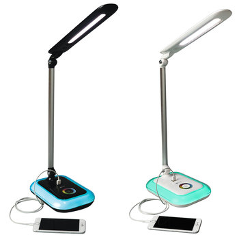 OttLite Wellness Glow LED Desk Lamp with Colour Changing Base in 2 Colours
