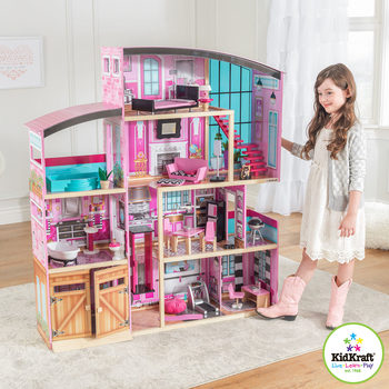 KidKraft Shimmer Mansion + 30 Lifestyle Accessories (3+ Years)