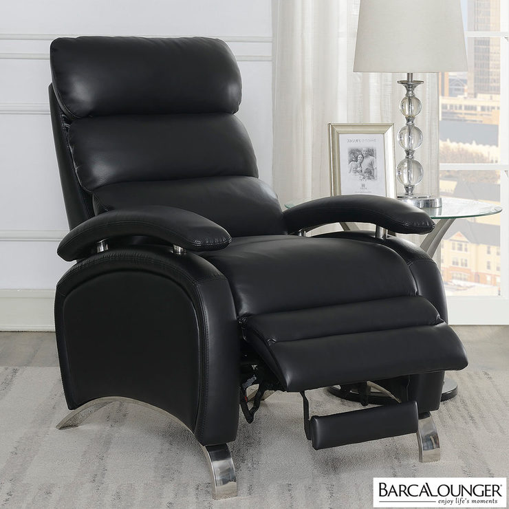 barcalounger pegasus black leather recliner chair costco uk rh costco co uk