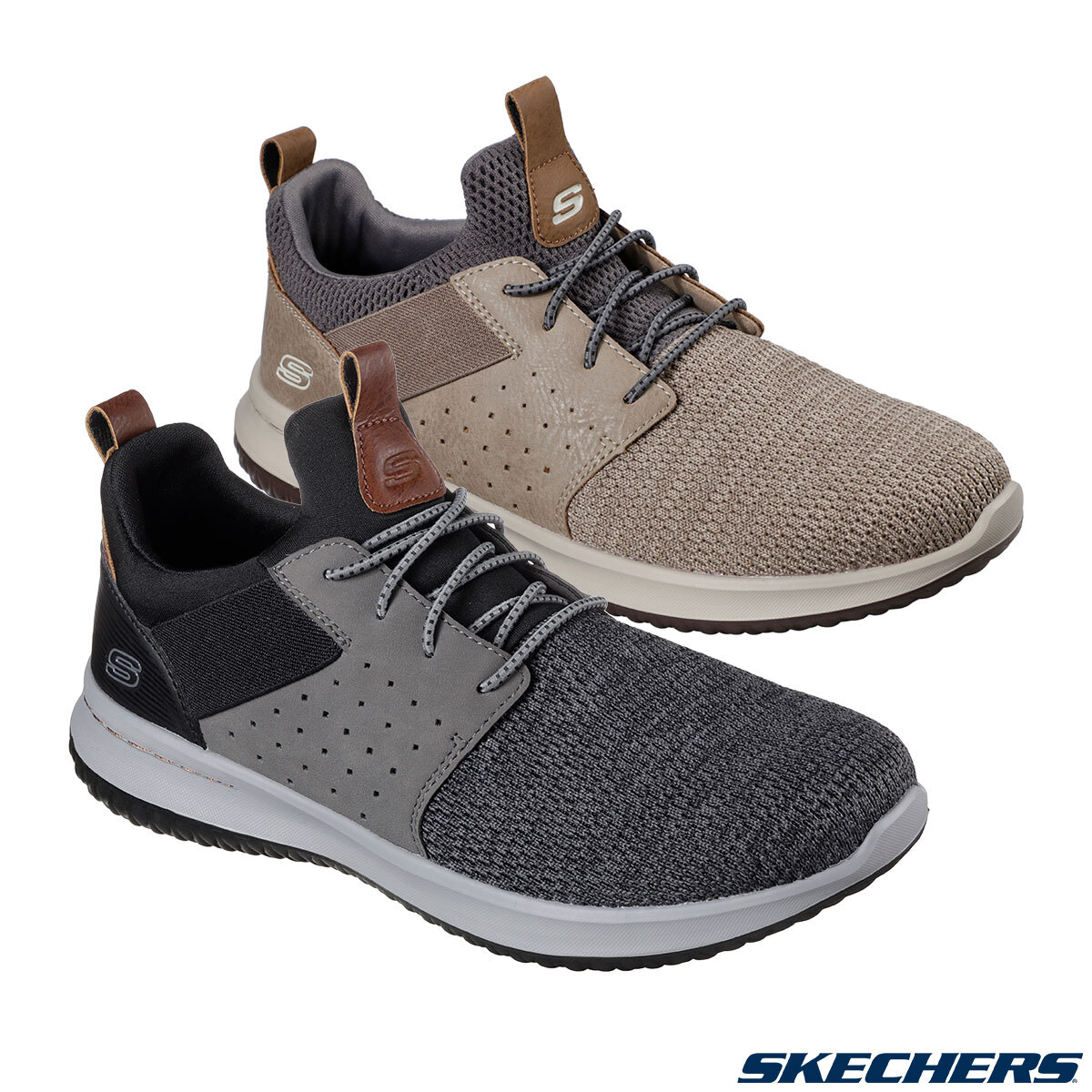 boicotear casual Se infla  Skechers Delson-Camben Men's Shoes in 2 Colours and 6 Sizes | Costco UK