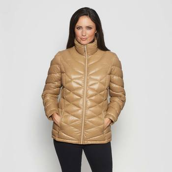 David Barry Women's Zip Fronted Down Filled Jacket in 5 sizes and 3 Colours