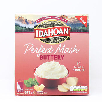 Idahoan Perfect Mash Buttery,  8 x 109g