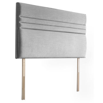 Silentnight Roma Slate Grey Fabric Headboard in 4 Sizes