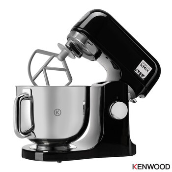 Kenwood kMix Stand Mixer in Black, KMX750AB
