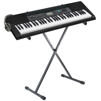 Casio Keyboard, CTK-2550AD with Stand