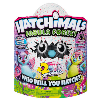 Hatchimals Fabula Forest With Two Bonus Season 4 Collegtible Figures (5+ Years)