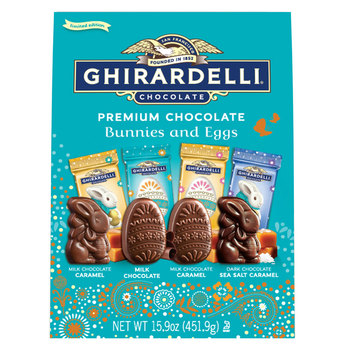 Ghirardelli Chocolate Bunnies and Eggs, 451g