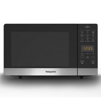 Hotpoint MWH27321MB 800W Grill Chefplus Crisp Microwave, Black