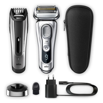 Braun Series 9 9350VS Electric Shaver with Charging Stand + BT5090 Beard Trimmer