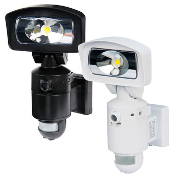NightWatcher NE400 16W LED Security Light with HD Camera 4GB SD