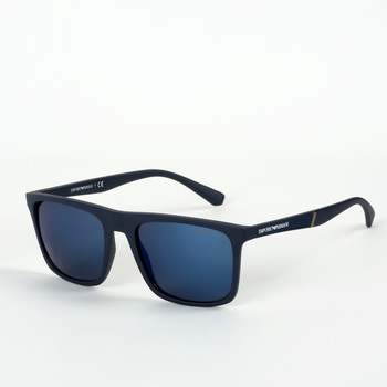 Emporio Armani Blue Sunglasses with Dark Blue Lenses, EA 4097 5575/96