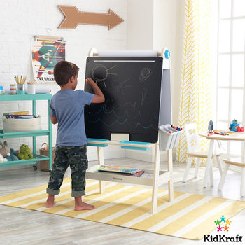KidKraft Create' N' Play Art Easel With EZ Kraft Assembly (3+ Years)