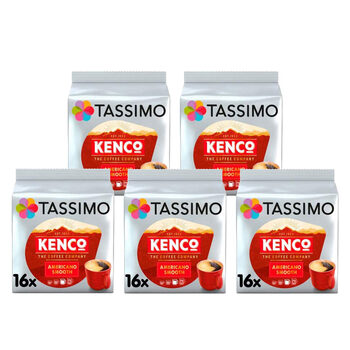 Tassimo Kenco Americano Smooth Coffee Pods, 80 Servings