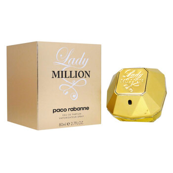 Paco Rabanne Lady Million Eau De Parfum Spray, 80ml