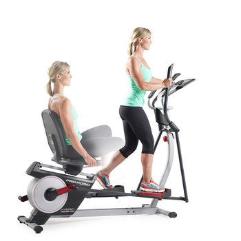 Proform Hybrid Trainer Pro Elliptical / Recumbent Bike