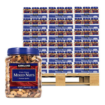 Kirkland Signature Extra Fancy Mixed Nuts Pallet Deal