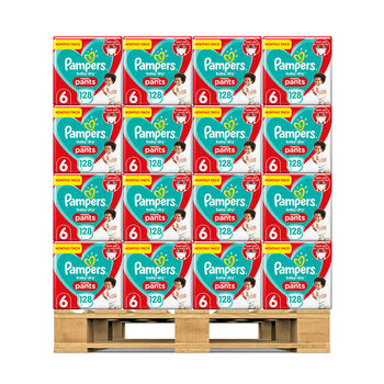 Pampers Baby Dry Nappy Pants Size 6, 40 x Monthly 128 Pack