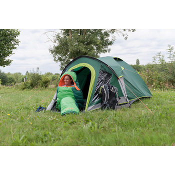 Coleman Kobuk Valley 4 Plus Tent with Blackout Bedroom