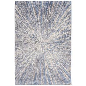 Silky Textures Cosmic Starburst Rug in 2 Sizes