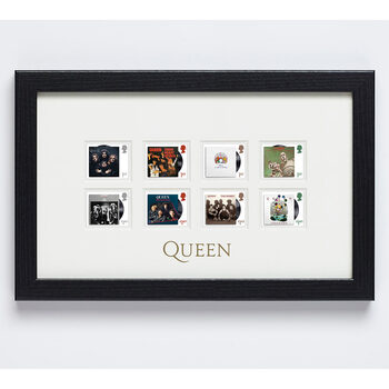 Queen Framed Royal Mail® Collectable Stamps