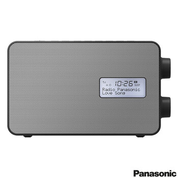 Panasonic RF-D30BTEB-K Portable Bluetooth DAB+ Radio