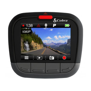 "Cobra CDR 875 G HD Dash Cam with 2"" LCD Screen and Built-In GPS"