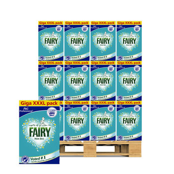Fairy Non-Bio Washing Powder, 140 Wash Pallet Deal (72 Units)