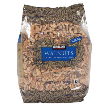 Kirkland Signature Walnut Halves & Pieces, 1.36kg