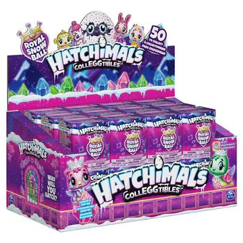 Hatchimals CollEGGtibles Season 6 Royal Snow Ball Assorted 24 Pack With Accessories (5+ Years)
