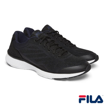 Fila Knit Athletic Men's Shoes in Black