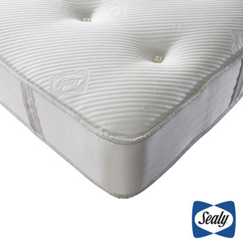 Sealy 1000 Deluxe Pocket Memory Tufted Mattress in 4 Sizes