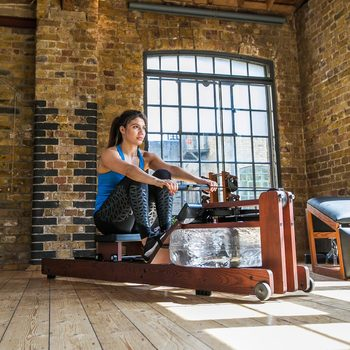 WaterRower Heritage S4 Rowing Machine with Performance Monitor in Rosewood